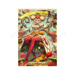 "Bushiroad Sleeve Collection Mini Vol.198 Cardfight!! Vanguard G ""Ranunculus in Glorious Bloom, Ahsha"" Pack"