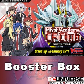 V-BT03 Miyaji Academy CF Club Cardfight Vanguard Booster Box