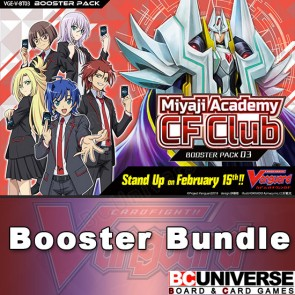 V-BT03 Miyaji Academy CF Club Cardfight Vanguard Booster Box Bundle