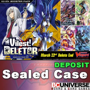 V-BT04: Vilest! Deletor Cardfight Vanguard Sealed Case DEPOSIT