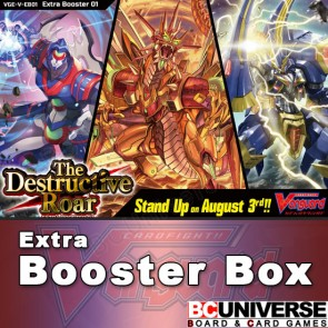 V-EB01: The Destructive Roar Cardfight!! Vanguard Extra Booster Box
