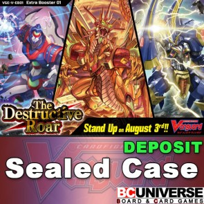 V-EB01: The Destructive Roar Cardfight!! Vanguard Extra Booster Sealed Case DEPOSIT