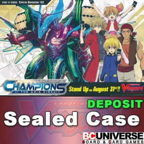 V-EB02: Champions of the Asia Circuit Vanguard Extra Booster Sealed Case DEPOSIT