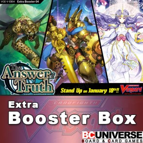 V-EB04: The Answer of Truth Cardfight!! Vanguard Extra Booster Box