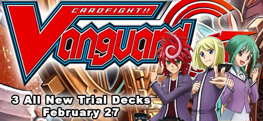 Cardfight!! Vanguard G Trial Decks